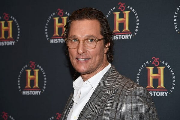 Matthew McConaughey Phone Number, Fan Mail Address, and Autograph Request Address